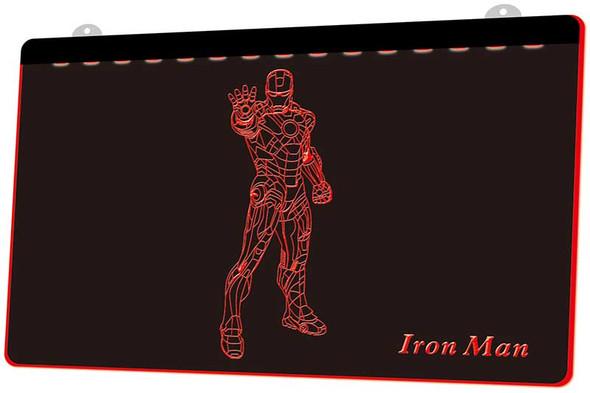 Iron Man Acrylic LED Sign