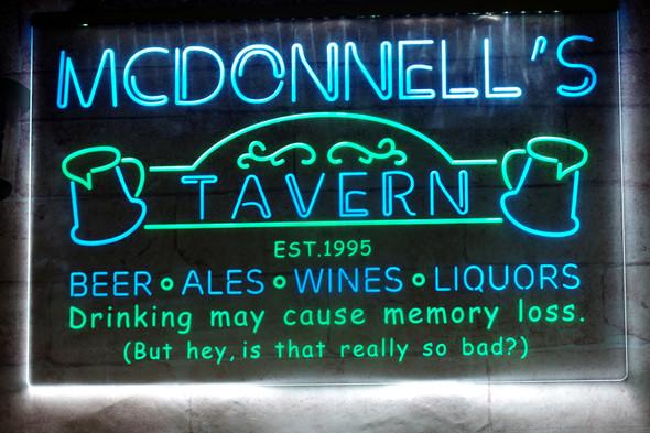 2 Color Custom Tavern Sign