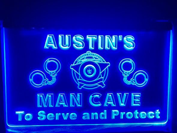 Law Enforcement Custom Man Cave Sign