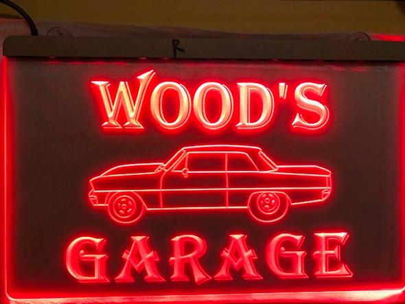 Custom Engraved LED Vehicle Sign