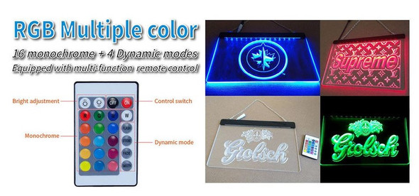 Add the 16 Color Changing Remote Controlled Option