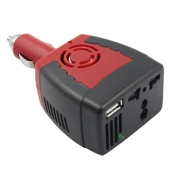 150W Car Power Inverter Adapter USB Charger Supply 12V DC to 220V AC