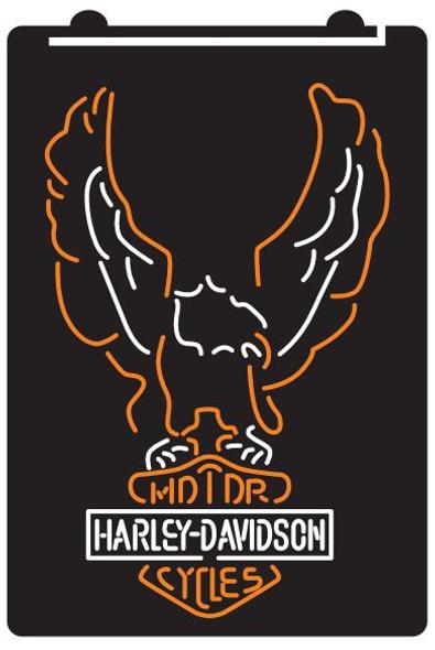Custom 2 Color Harley Davidson LED Sign (J)