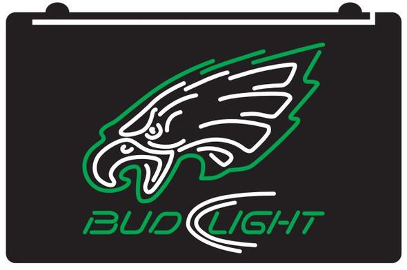 2 Color Custom Philadelphia Eagles LED Sign (A)