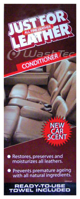Just For Leather Conditioner Decal (3 Col)