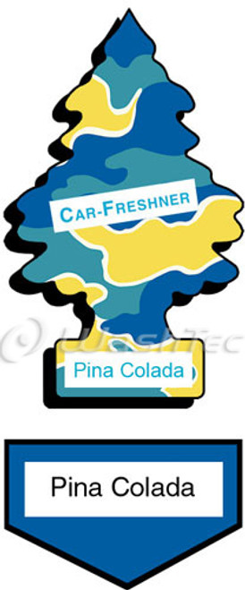 Little Trees - Pina Colada Decal Overlay - FREE