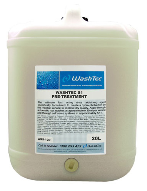 WashTec S1 Pre-Treatment