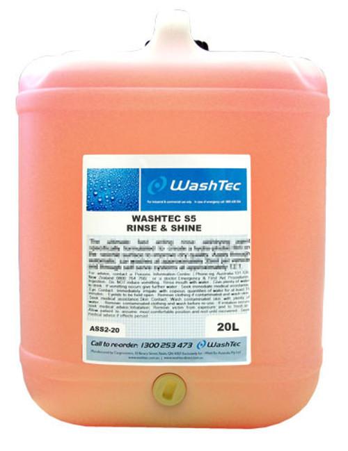 WashTec S5 Rinse & Shine - Watershield