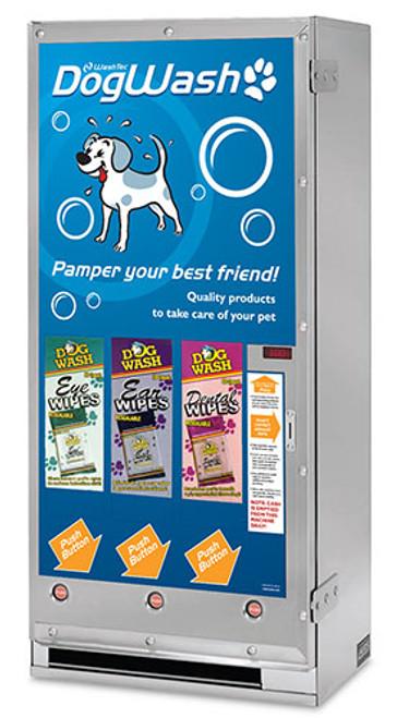 3 Column Electric Dog Wash Vendor - Package