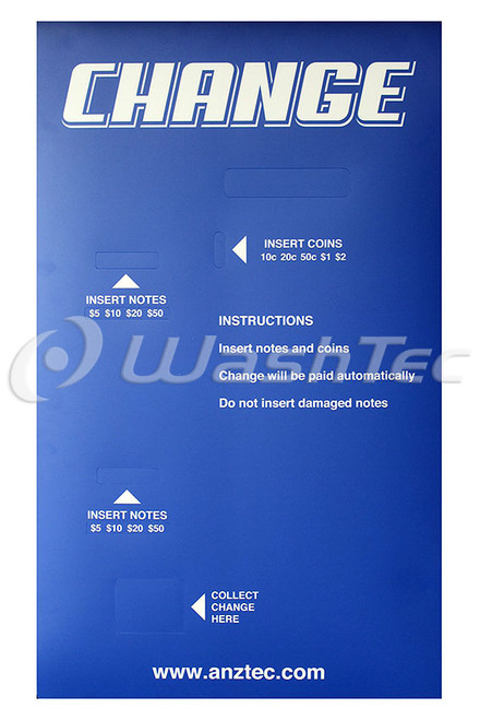 Anztec Change Machine (QC-5604) Decal