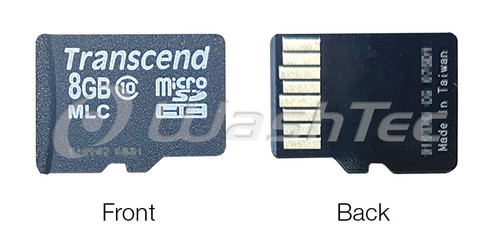 8BG Micro SD Card - WashTec Plus