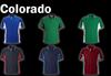 COLORADO Polo Shirt - Emerald Green/White/Gold