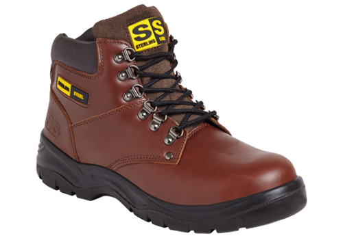 SS807 Safety Boot - Brown