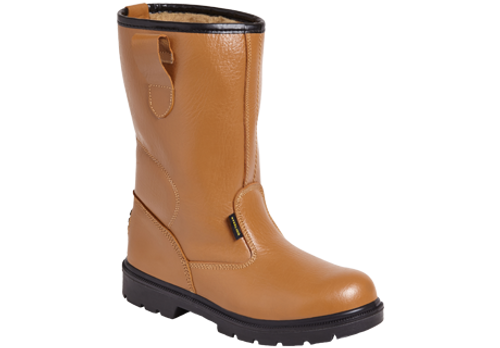 SS403 Rigger Safety Boot - Light Tan