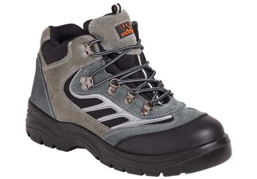 SS605 Suede Sports Trainer Boot - Grey