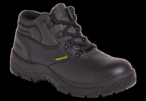 SS400SM Chukka Safety Boot - Black