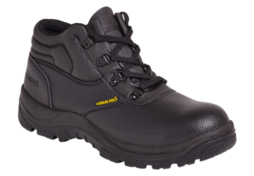 SS400SM Chukka Safety Boot - Black
