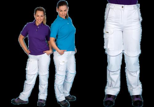 Shield Ladies Trouser - White/Purple
