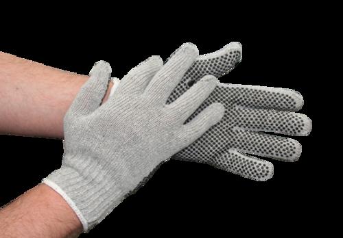 Shield Polka Dot Gloves