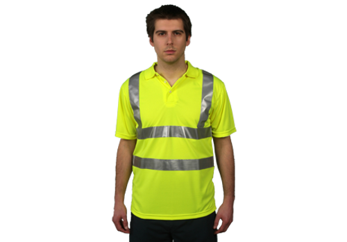 Shield Hi-Vis Polo Shirt
