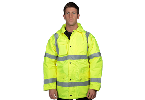 Shield Hi-Vis Long Coat