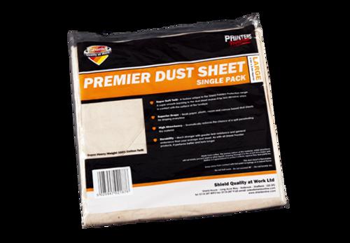 Shield Premier Dust Sheet - 3.6m x 2.7m