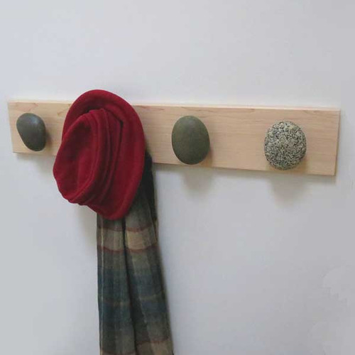 Beach Stone Towel Hook Racks
