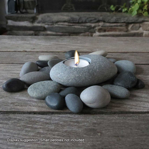 Natural Bach Stone Tealight