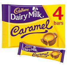 Cadbury Dairy Milk Caramel 4 Pack