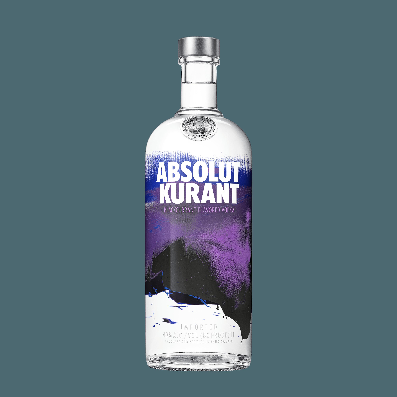Absolut Kurant Vodka 1L