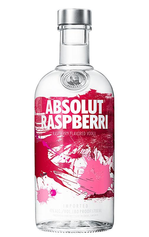 Absolut Raspberry Vodka 1L
