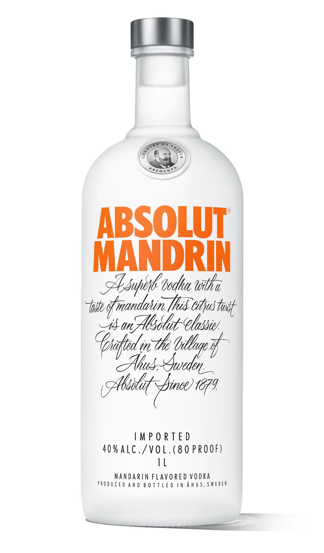 Absolut Mandrin Vodka 1L
