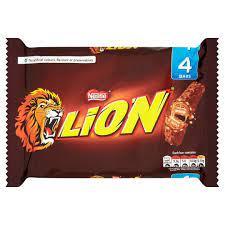 Lion Bar 4 Pack