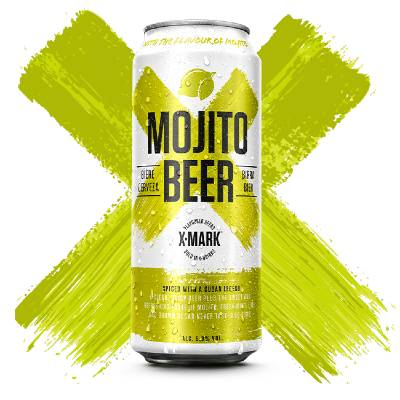 X-Mark Mojito Beer Can 50cl