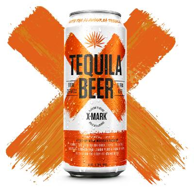 X-Mark Tequila Beer Can 50cl