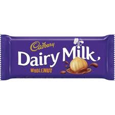 Cadbury Dairy Milk Wholenut 55g