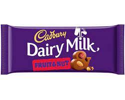 Cadbury Dairy Milk Fruit & Nut 54g