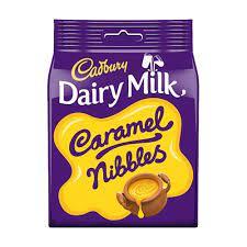 Cadbury Dairymilk Caramel Nibbles 120g