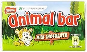 Nestle Animal Bar Milk Chocolate