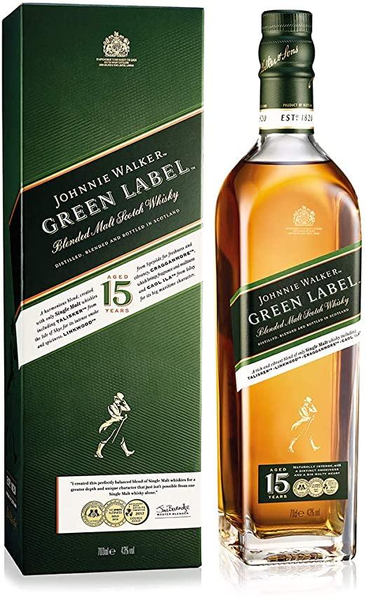 Johnnie Walker Green 1ltr Whiskey