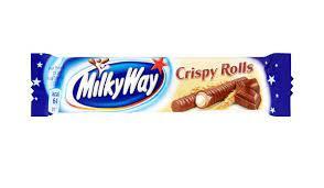 Milky Way Crispy Rolls 125g