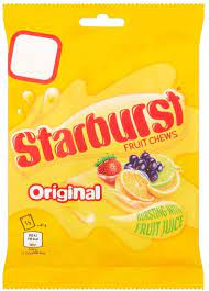 Starburst Fruit Chews Original 141g