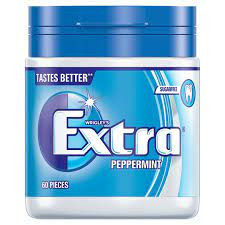 Wrigleys Extra Peppermint 60 Pieces