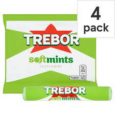 Trebor Softmints Peppermint 4 Pack