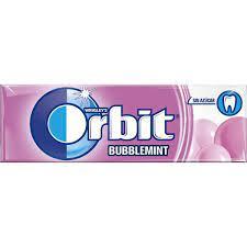 Wrigleys Orbit Bubblemint Single Pack