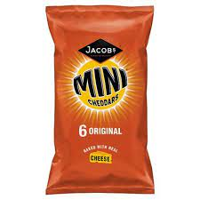 Jacobs Mini Chedders Original 6 Pack 25g