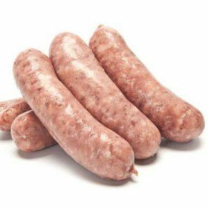 Pork Cumberland Sausages (Price per Kilo)