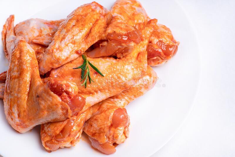 Marinated Chicken Wings (Price per Kilo)