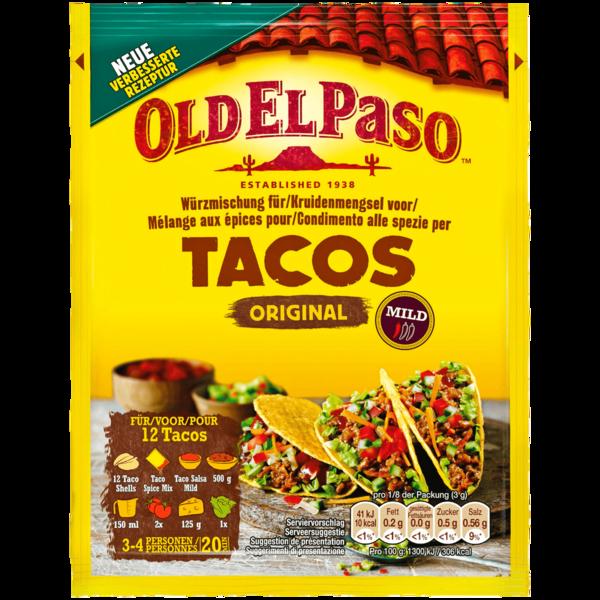 Old El Paso Taco Seasoning 30g