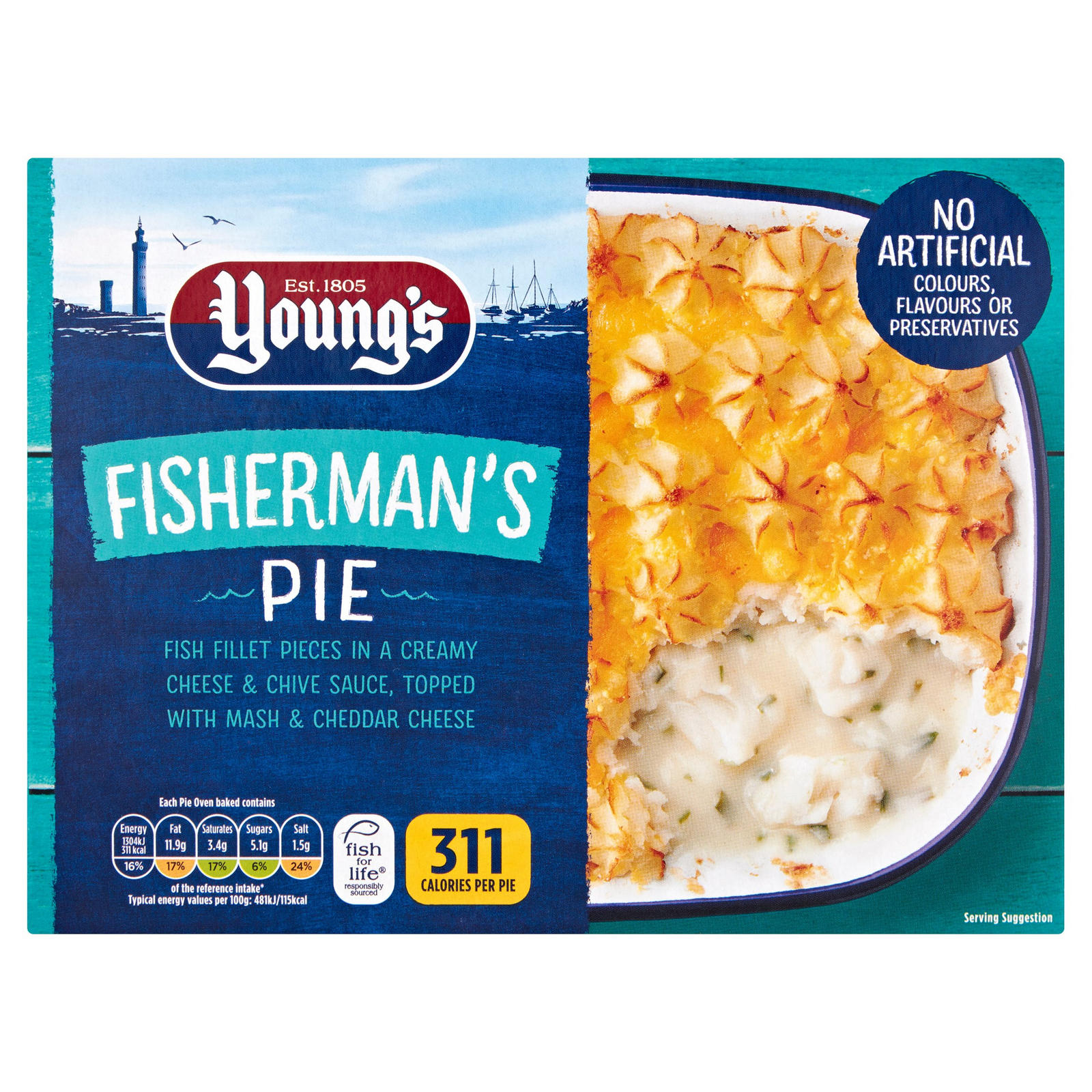 Young's Fisherman Pie 340gr